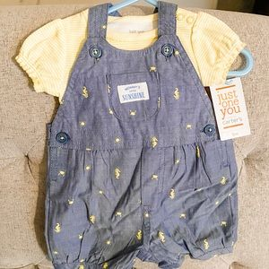 Just For You by Carter's Baby Girl Shortall